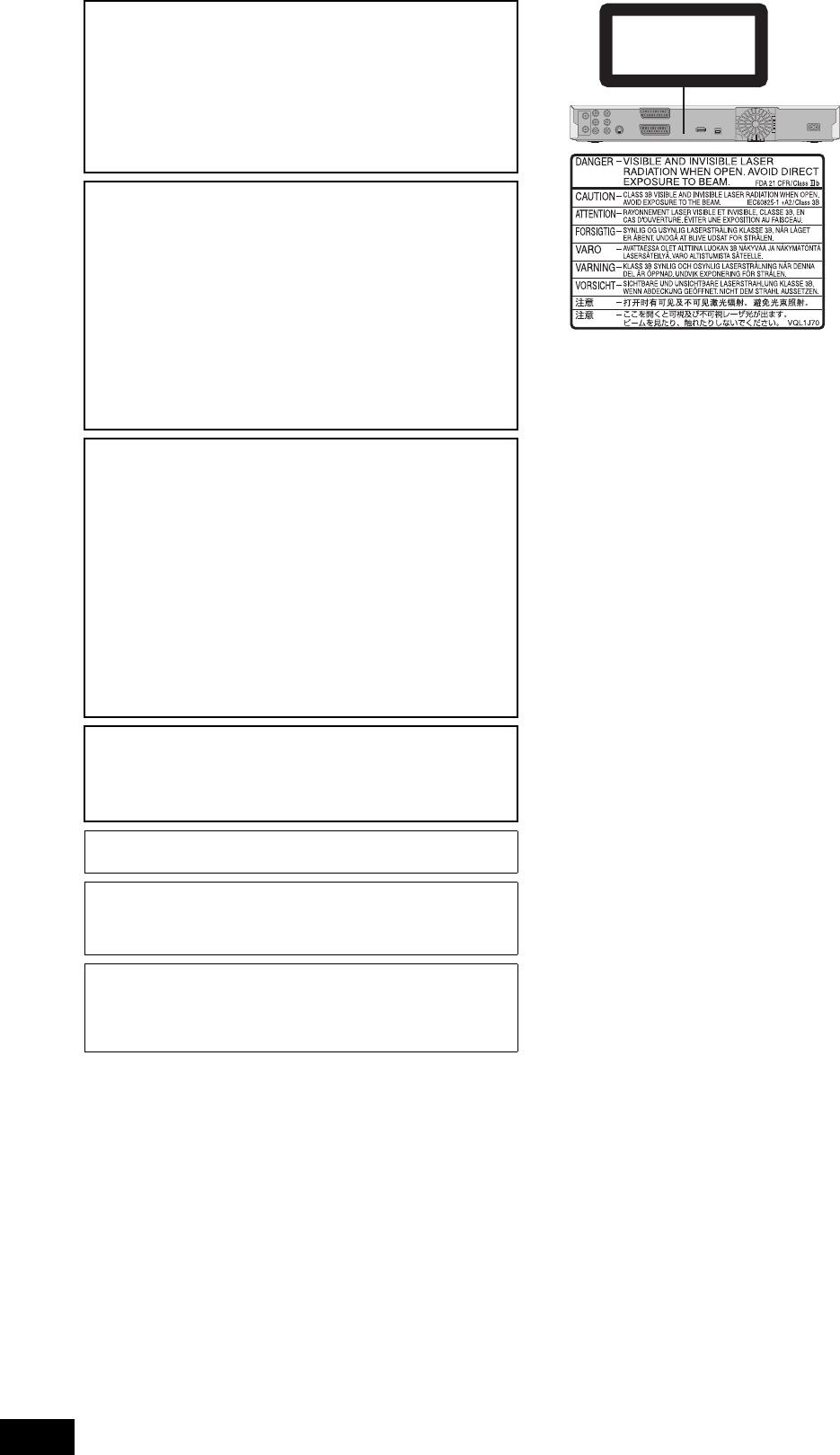 Handleiding Panasonic DMR-EH49 (pagina 2 van 88) (Nederlands)