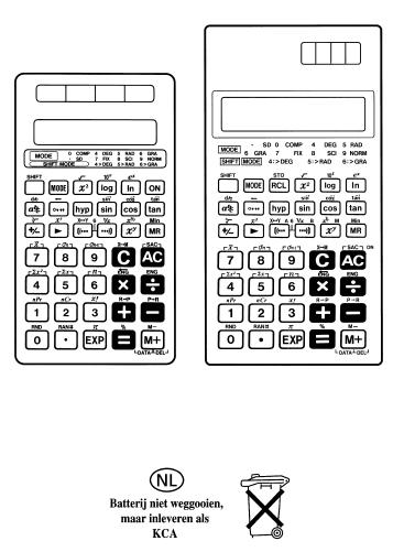 CASIO FX-82MS HANDLEIDING PDF