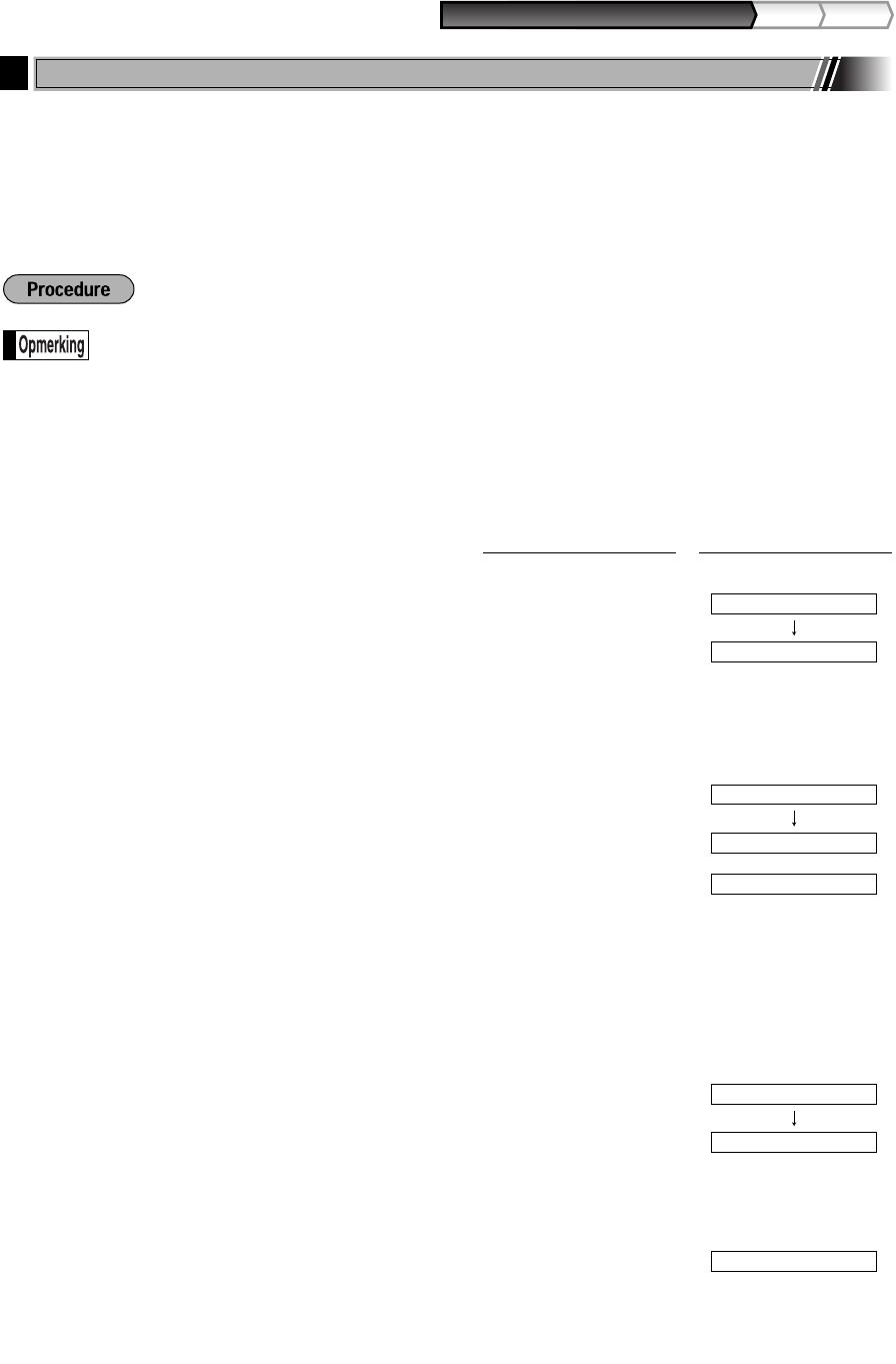 Handleiding Sharp XE-A203 (pagina 23 van 94) (Nederlands)