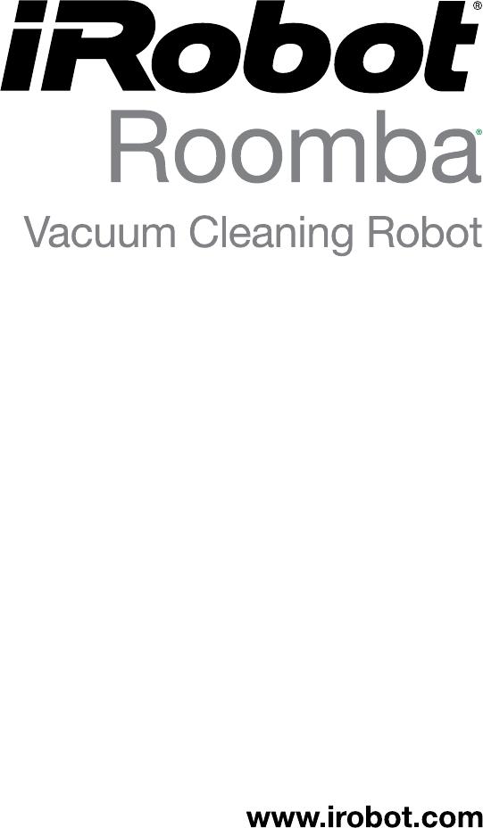 Handleiding Irobot Roomba 5105 (pagina 1 van 28) (English)