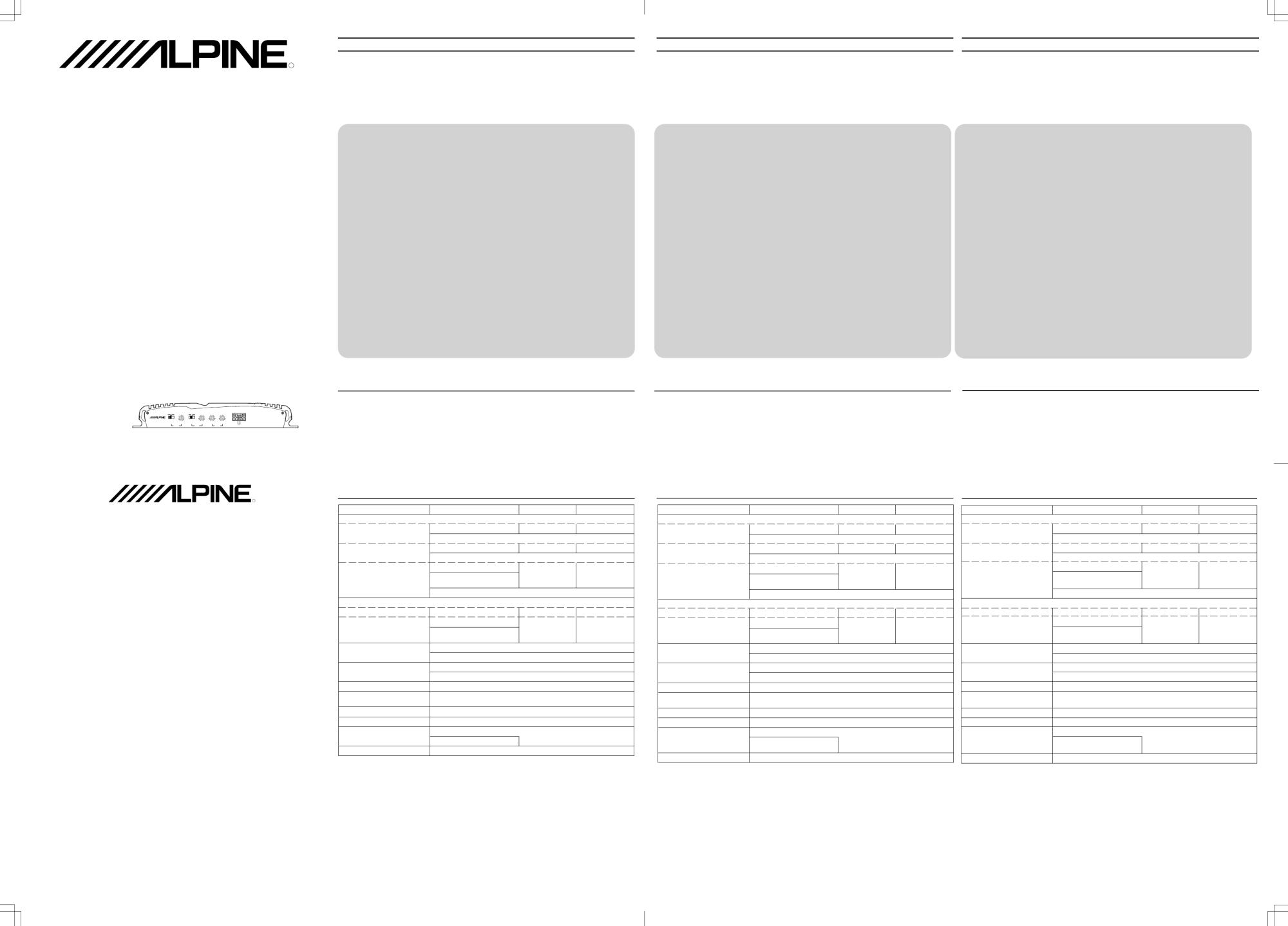 hight resolution of alpine mrp t 306
