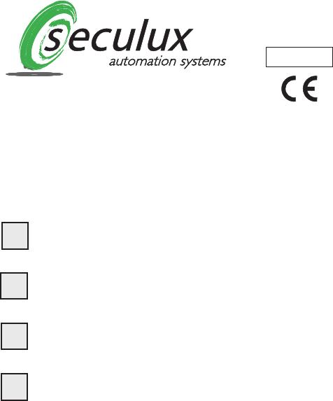 Handleiding Seculux TCFM868 (pagina 1 van 28) (Deutsch