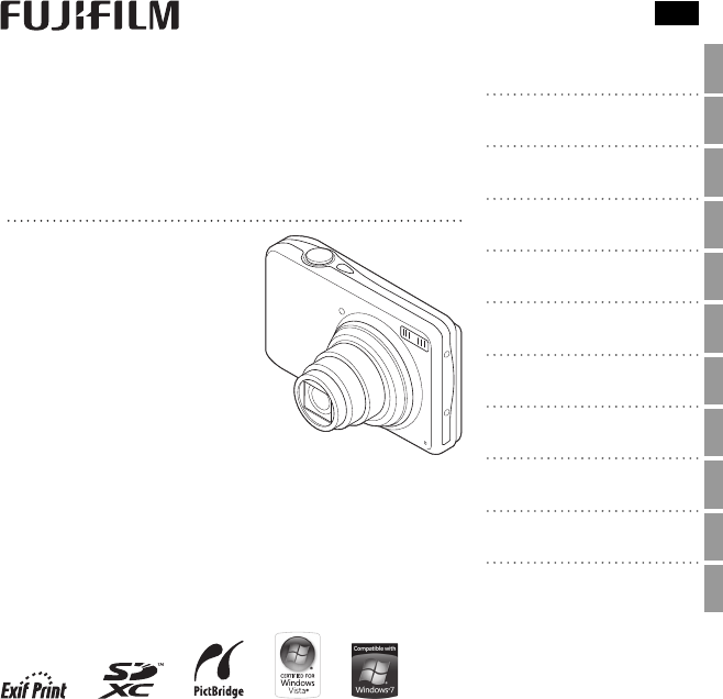 Handleiding Fuji Finepix T350 (pagina 1 van 122) (English)