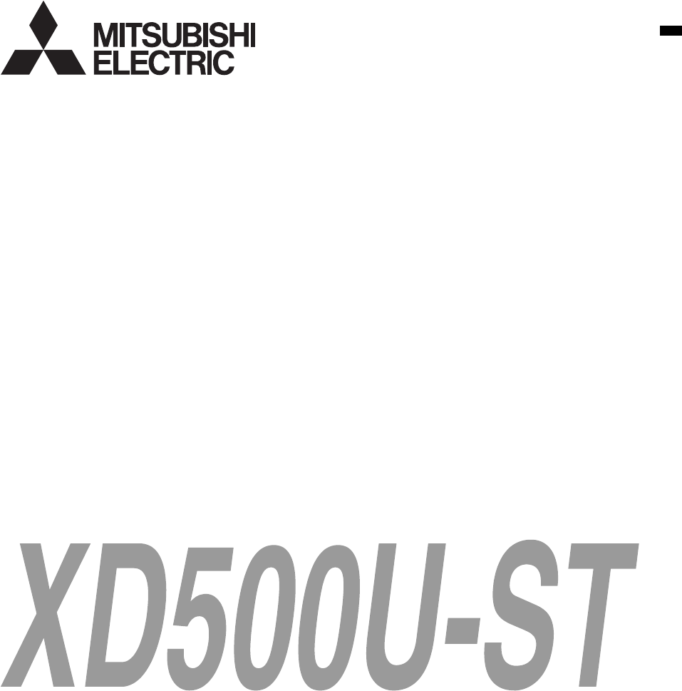 Handleiding Mitsubishi xd500u video data projector (pagina