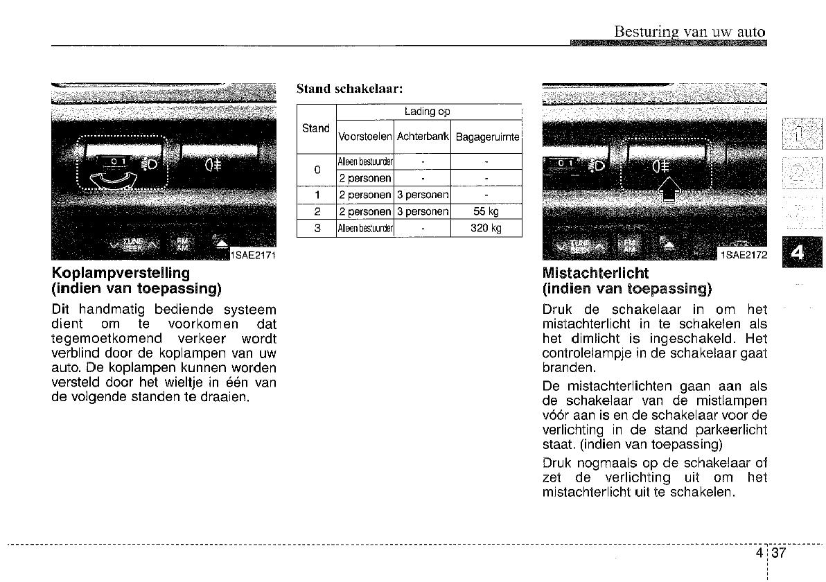 Handleiding Kia Picanto (pagina 129 van 276) (Nederlands)