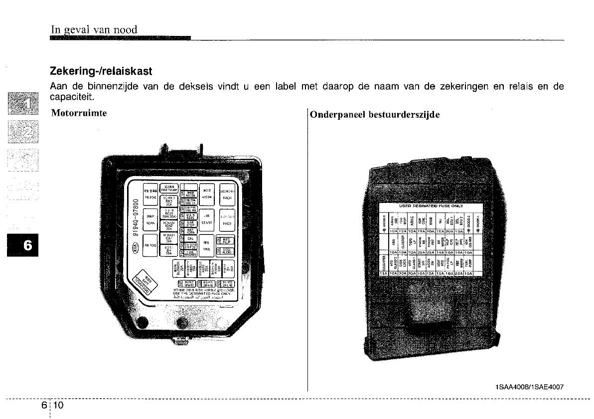 Handleiding Kia Picanto (pagina 180 van 276) (Nederlands)