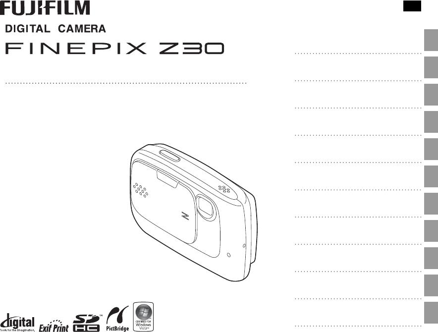 Handleiding Fujifilm FinePix Z30 (pagina 1 van 117) (English)