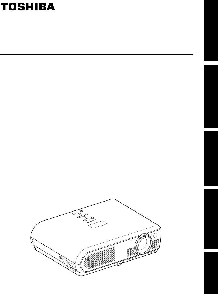 Handleiding Toshiba tlp s70 (pagina 1 van 26) (English)