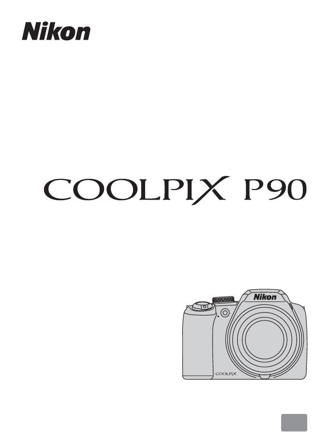 Handleiding Nikon Coolpix P90 (pagina 1 van 192) (Nederlands)
