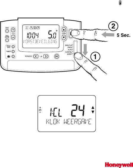 Handleiding Honeywell Chronotherm Modulation CMT937M1003