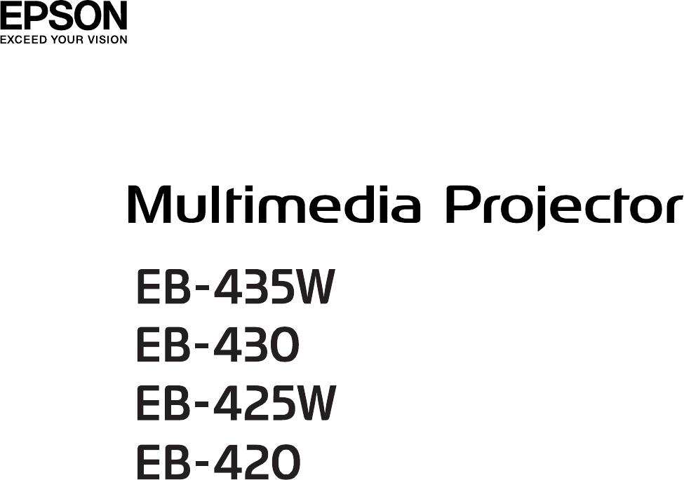 Handleiding Epson EB430 (pagina 1 van 139) (Nederlands)