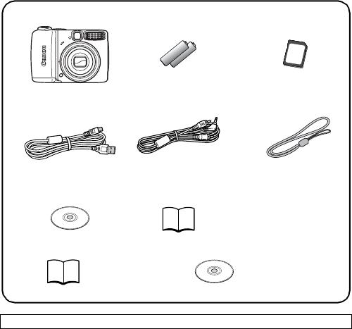 Handleiding Canon PowerShot A590 IS (pagina 2 van 207