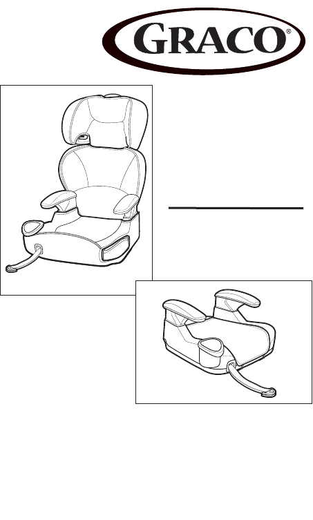 Handleiding Graco AFFIX Booster Seat (pagina 1 van 88