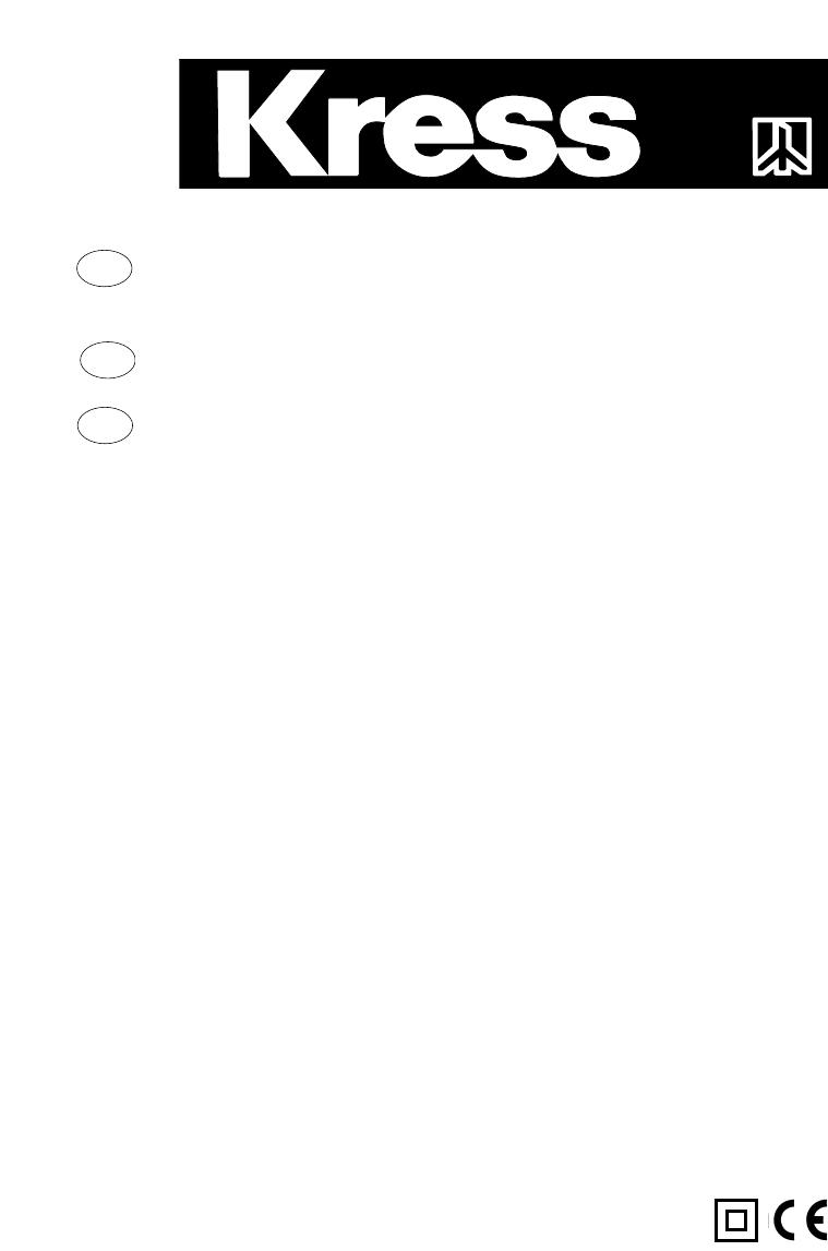 Handleiding Kress aps 132 (pagina 1 van 17) (Deutsch