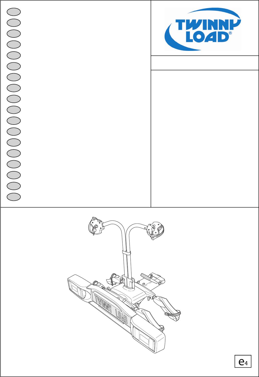 Handleiding Twinny Load Ergo FFK (pagina 1 van 32) (Dansk