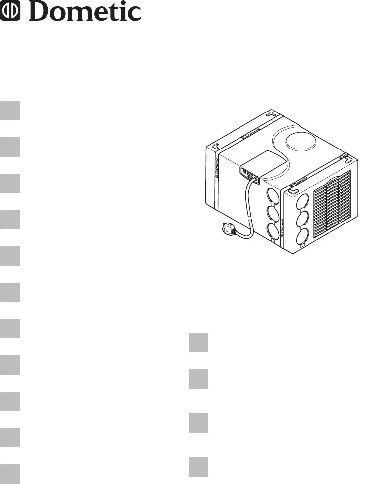 Handleiding Dometic FreshWell 2000 (pagina 1 van 356