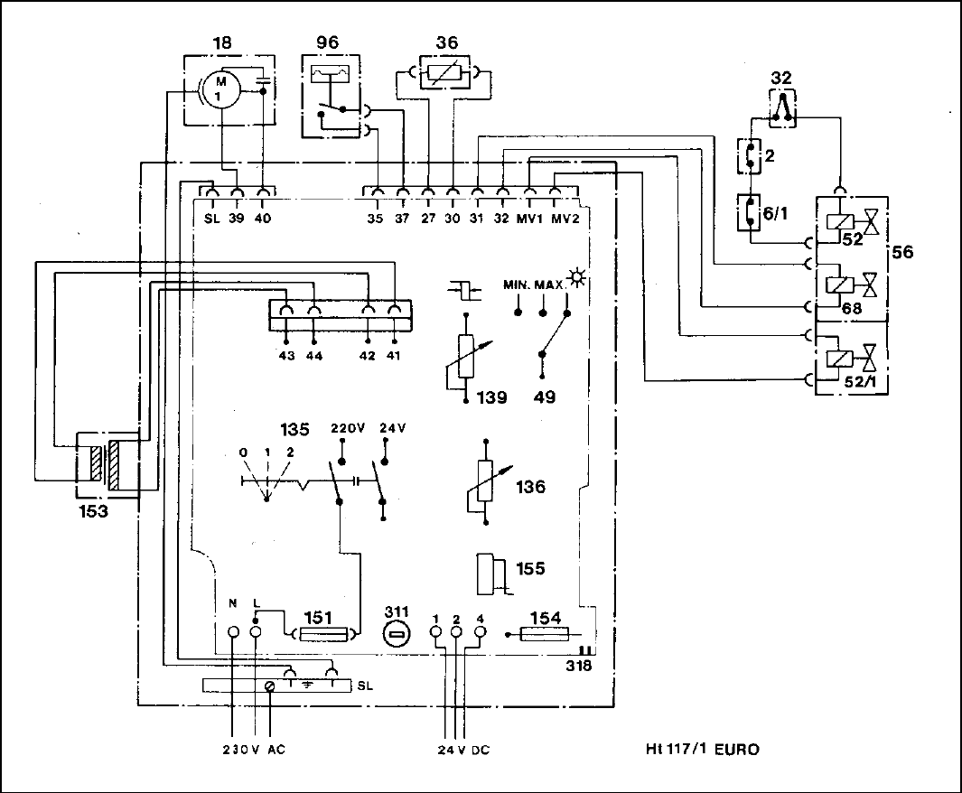 Honeywell Clarostat Potentiometer Schematic