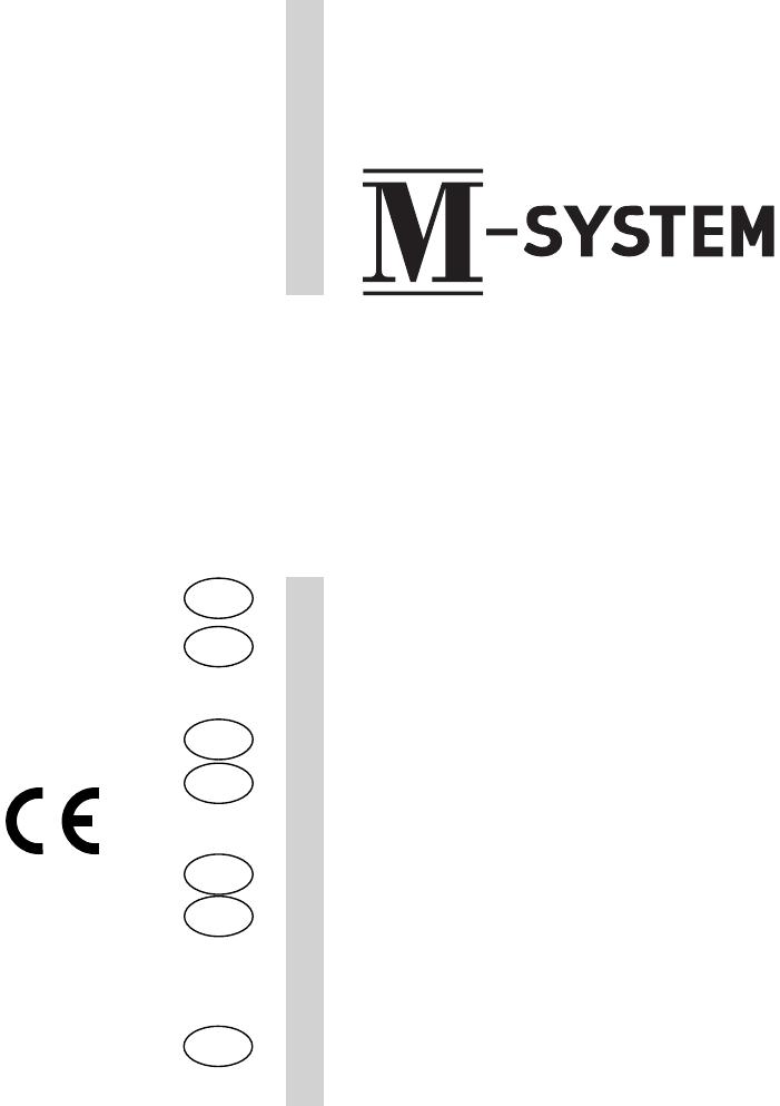 Handleiding M-System MFT-96 (pagina 1 van 260) (Deutsch