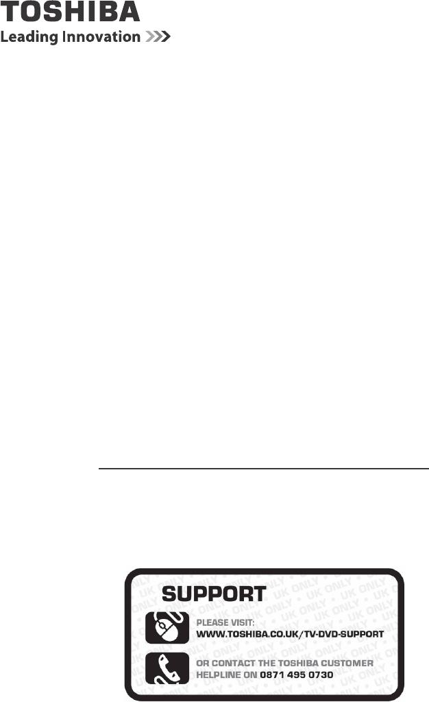 Handleiding Toshiba 24D1334G (pagina 1 van 54) (English)