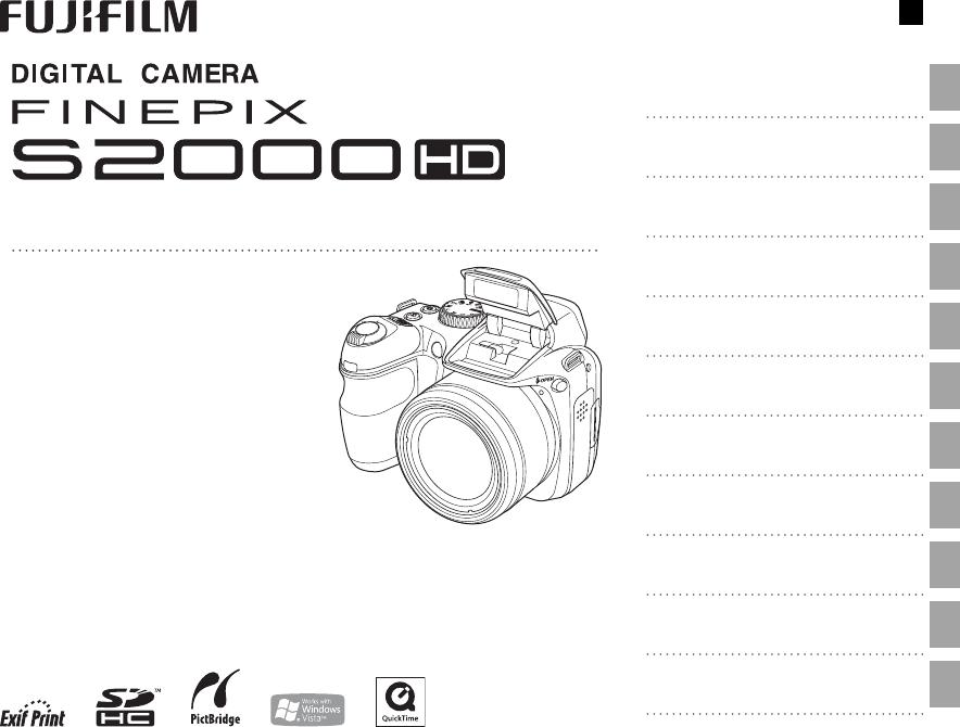 Handleiding Fujifilm finepix s2100hd (pagina 1 van 148