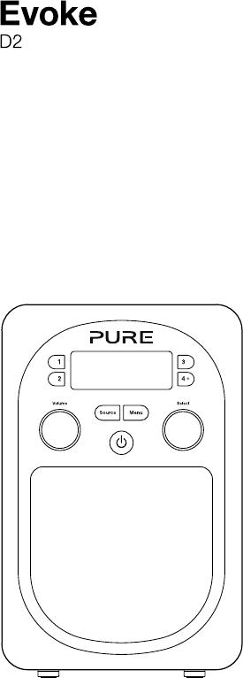 Handleiding Pure Evoke D2 (pagina 3 van 24) (English)