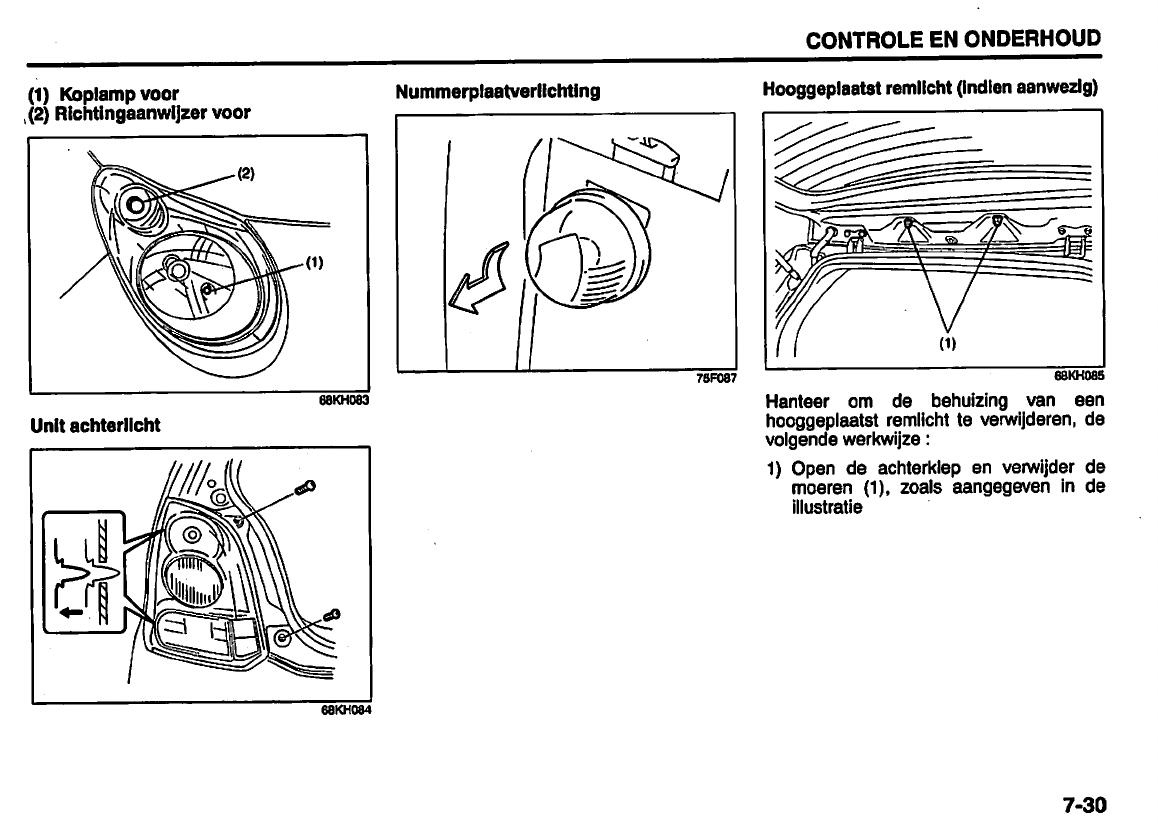 Handleiding Suzuki Alto Pagina 168 Van 210 Nederlands