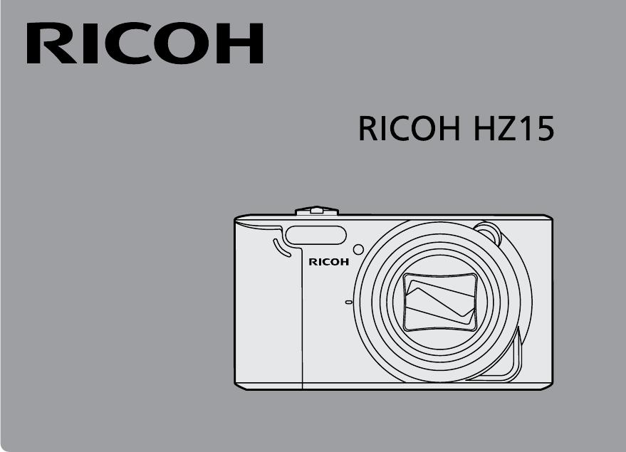 Handleiding Ricoh HZ15 (pagina 1 van 83) (Espanõl)