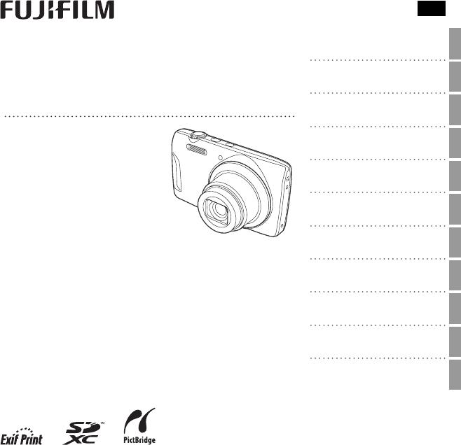 Handleiding Fujifilm Finepix T500 (pagina 1 van 118) (English)