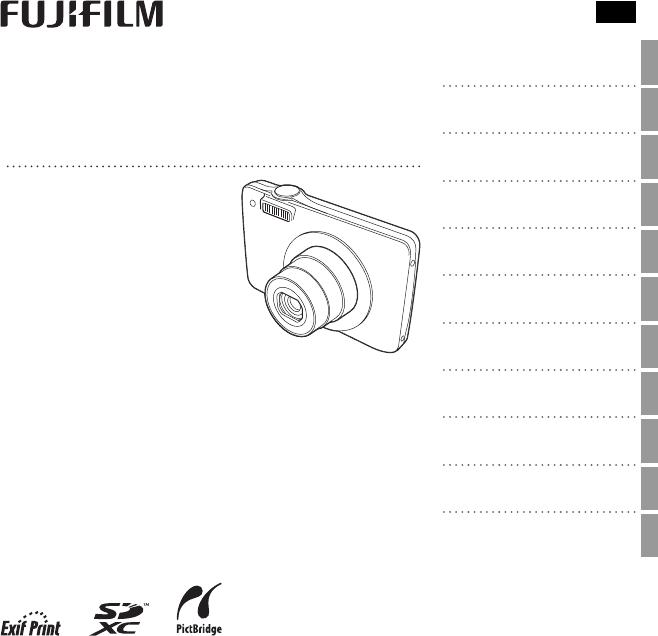Handleiding Fujifilm FinePix JX600 series (pagina 1 van