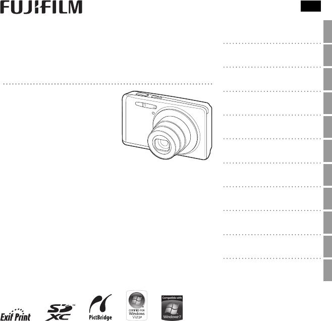 Handleiding Fujifilm FinePix JX700 (pagina 1 van 122