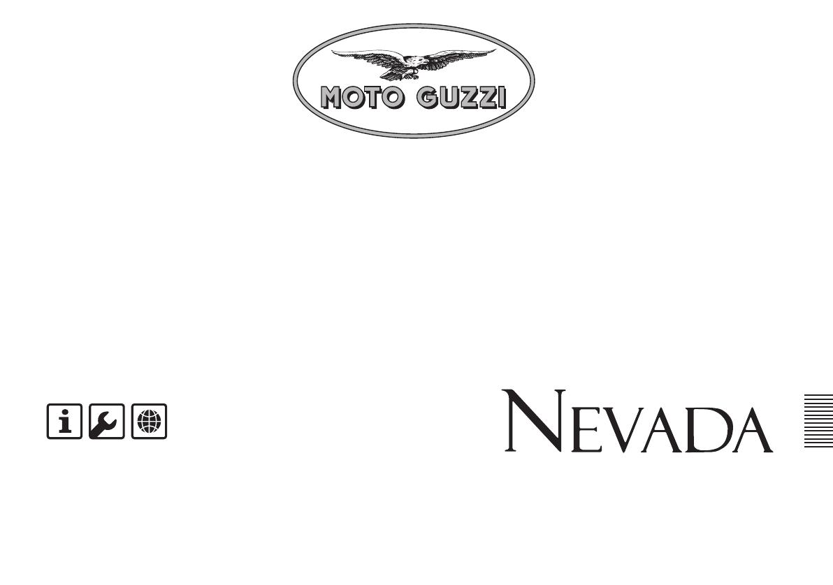 Handleiding Moto Guzzi 750 Nevada (pagina 1 van 79