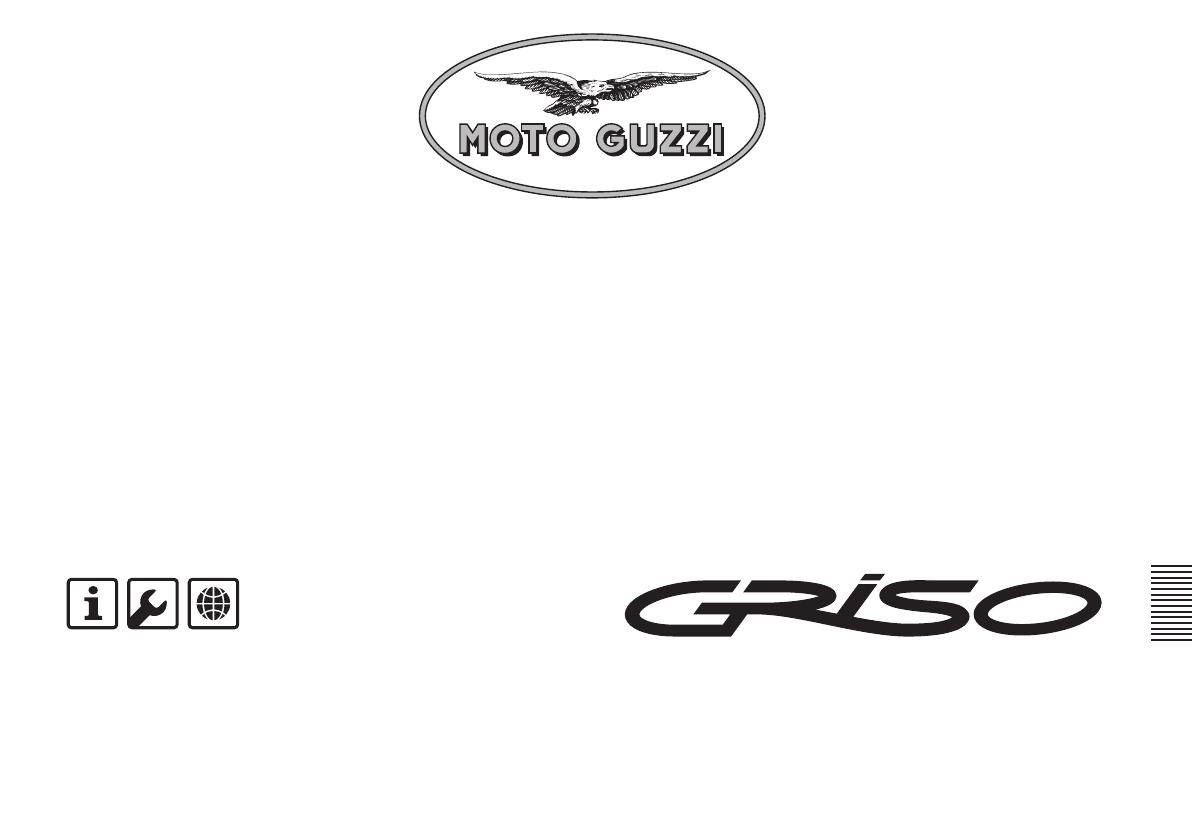 Handleiding Moto Guzzi Griso 1100 I.E. (pagina 1 van 87