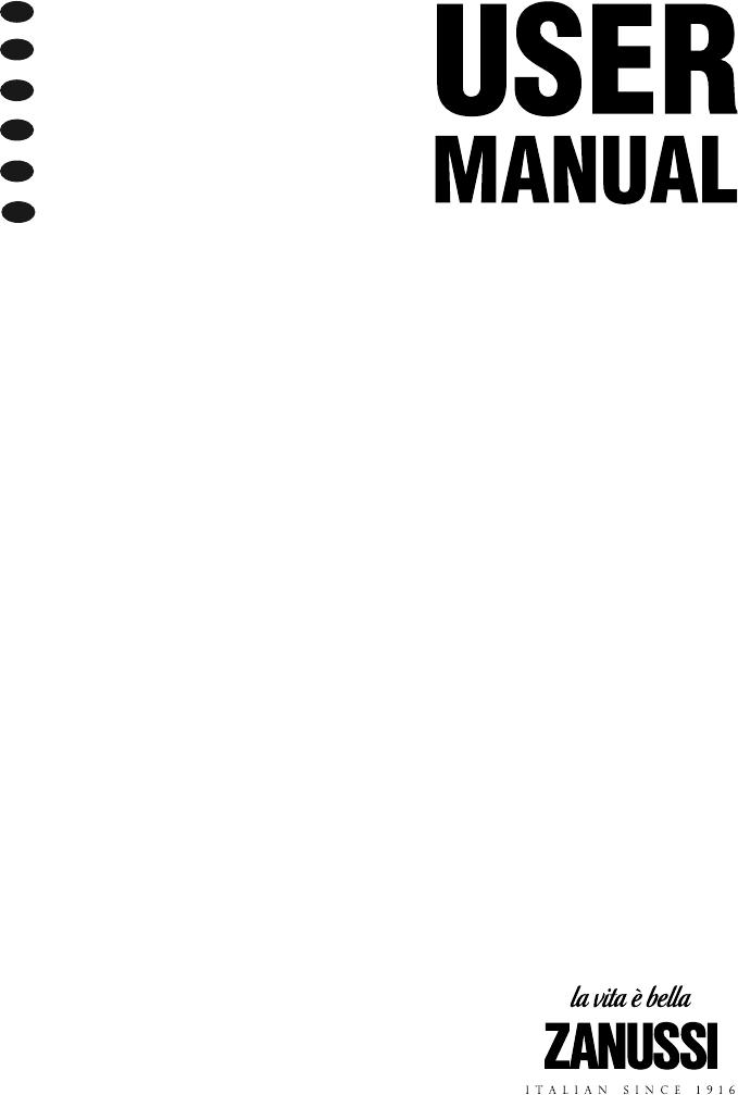 Handleiding Zanussi ZBM26542 (pagina 1 van 172) (Deutsch