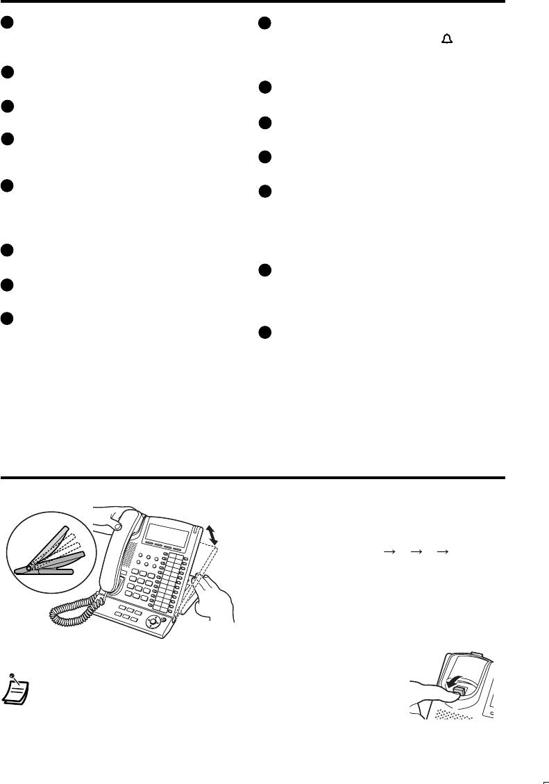 Handleiding Panasonic KX-T7633 (pagina 8 van 12) (Nederlands)