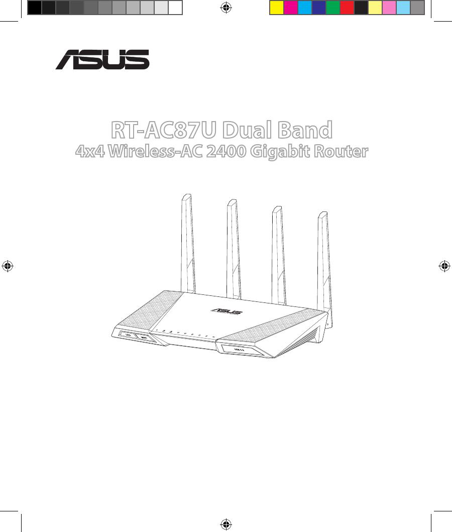 Handleiding ASUS RT-AC87U (pagina 1 van 158) (Dansk