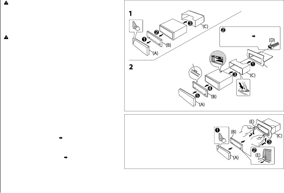 Bedienungsanleitung Kenwood Kdc Bt34u