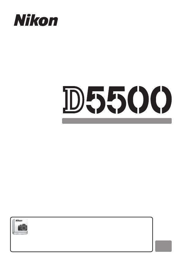 Handleiding Nikon D5500 (pagina 1 van 428) (Nederlands)