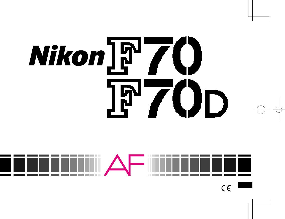 Handleiding Nikon F70 (pagina 1 van 69) (English)