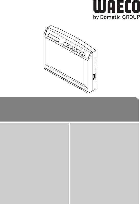 Handleiding Waeco PerfectView M7L Monitor (pagina 1 van