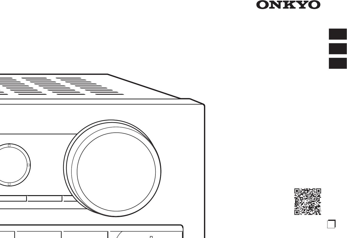 Handleiding Onkyo HT-R993 (pagina 1 van 70) (English