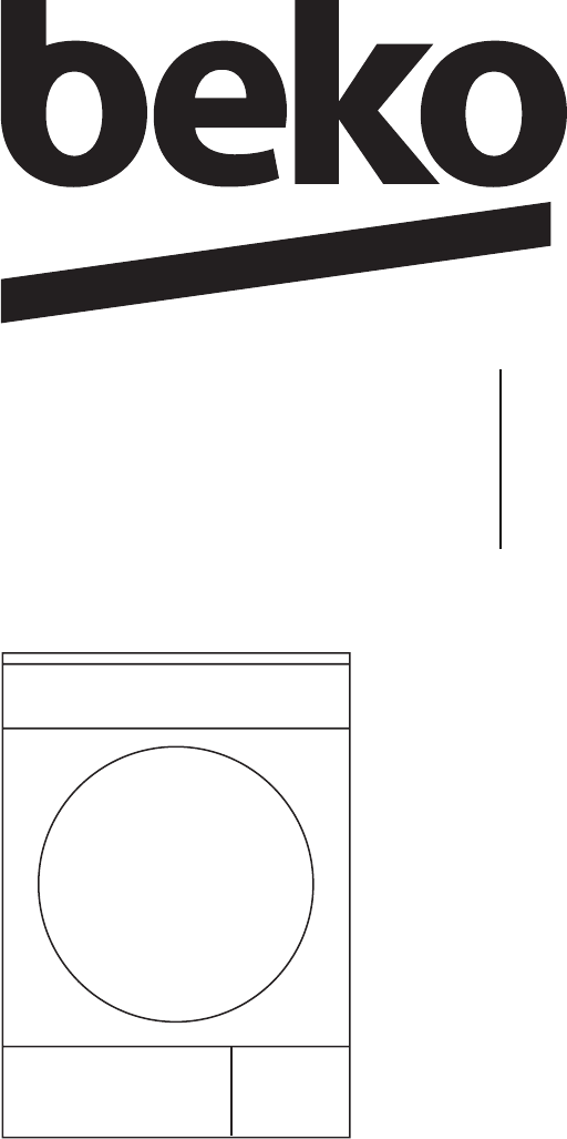 Handleiding BEKO DCY 7402 XW3 (pagina 1 van 56) (English