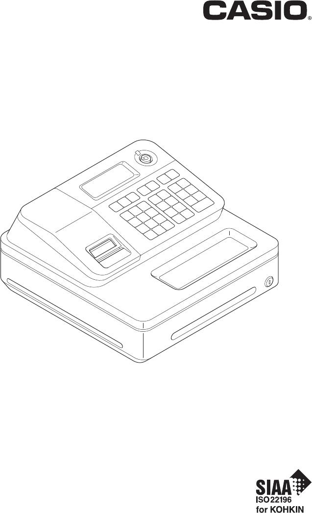 Handleiding Casio SE-G1 (pagina 1 van 76) (English)