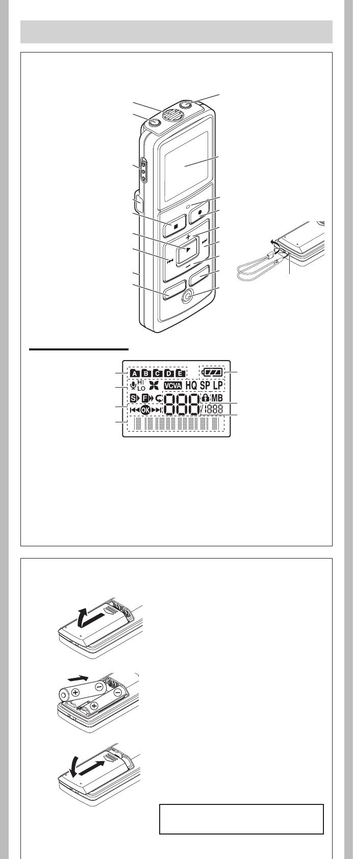 Handleiding Olympus VN-5500PC (pagina 2 van 12) (Nederlands)