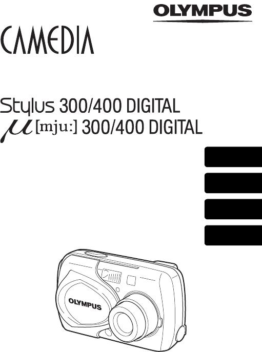 Handleiding Olympus MJU 300 (pagina 1 van 172) (Deutsch