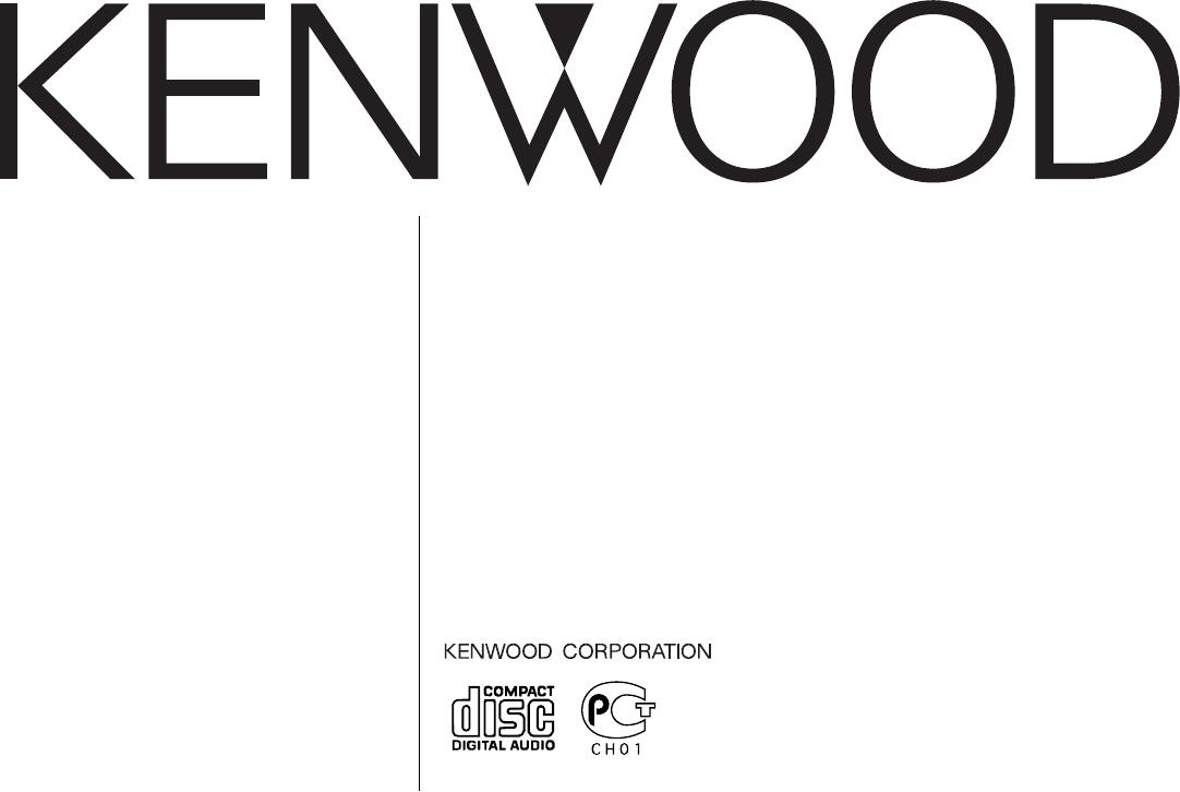 Handleiding Kenwood KDC-2021S (pagina 1 van 19) (English)