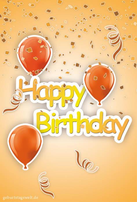 Geburtstagskarten  Kostenlose Vorlagen zum Ausdrucken und
