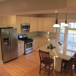 Solid Wood Shaker Kitchen Cabinets Island Lighting Remodel Your With Modern Rta In Usa