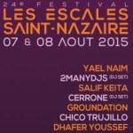 Les escales 2015 affiche logo | Festival