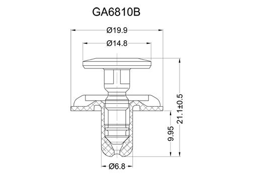 GA6810B