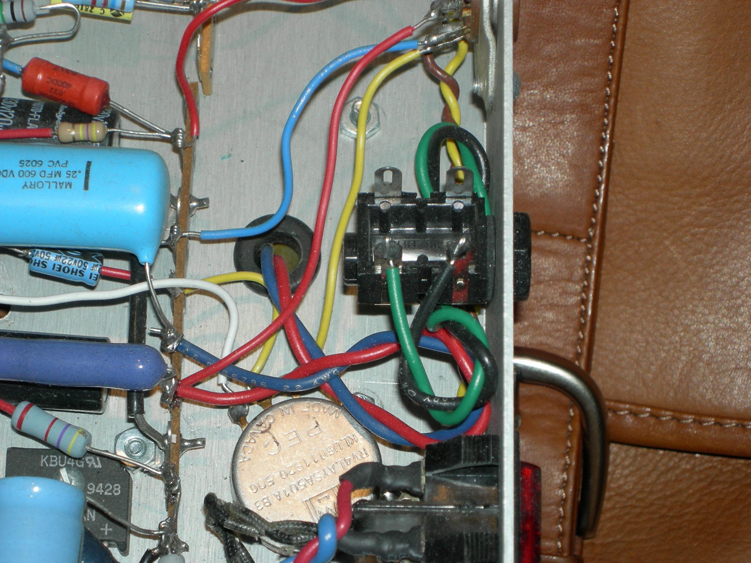 guitar output jack wiring diagram hw 2000i inverter input jacks for speaker